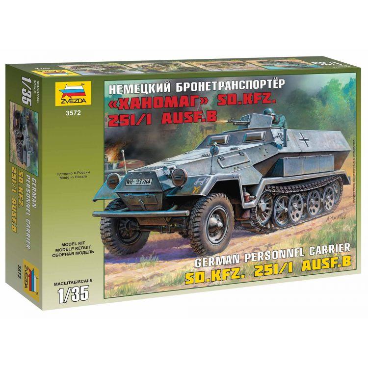 Model Kit military 3572 - Hanomag Sd.Kfz.251/1 Ausf.B (1:35)