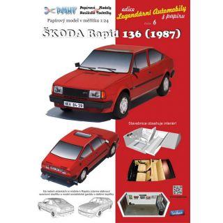 ŠKODA  Rapid 136 (1987) 1:24