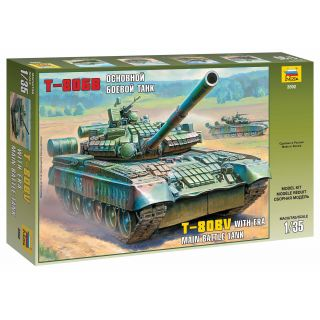 Model Kit tank 3592 - Russian Main Battle Tank T-80BV (1:35)