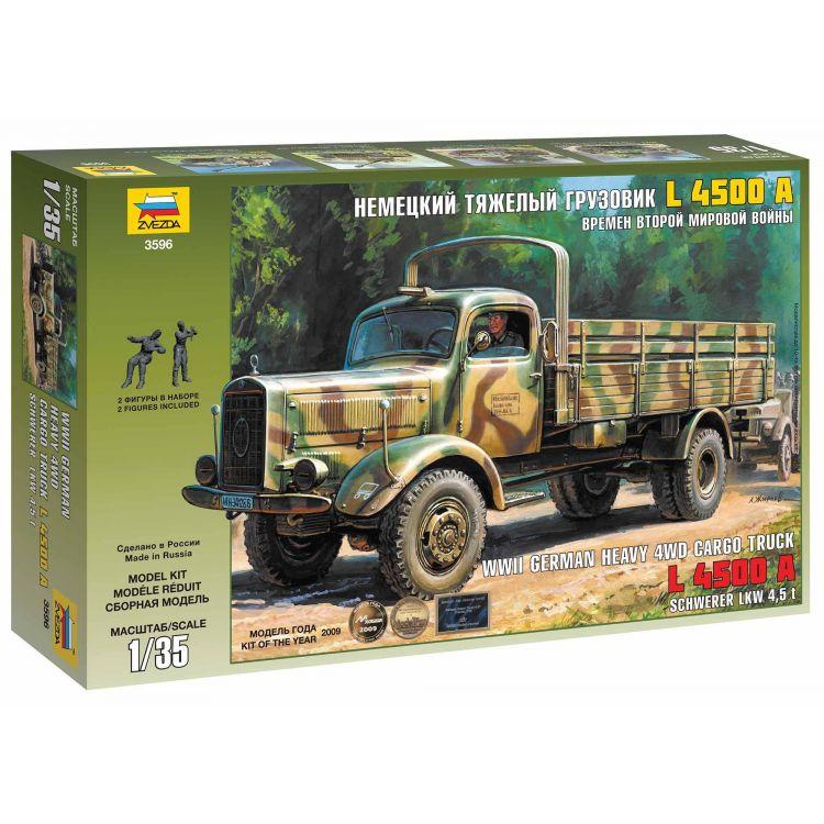 Model Kit military 3596 - German Heavy Truck L4500A (1:35)