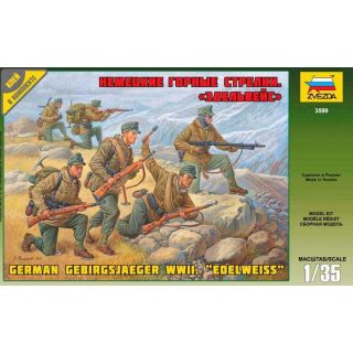 Model Kit figurky 3599 - German Gebirgsjäger (re-release) (1:35)