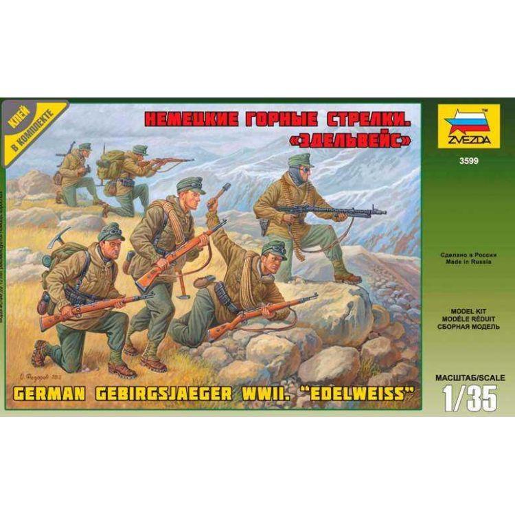Model Kit figurky 3599 - German Gebirgsjäger (re-release) (1:35)
