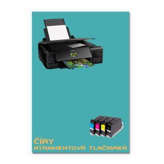 Číry odtlačkový papier A4 decal - Inkjet