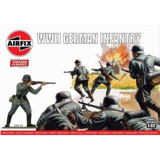 Classic Kit VINTAGE figurky A02702V - WIWII German Infantry (1:32)