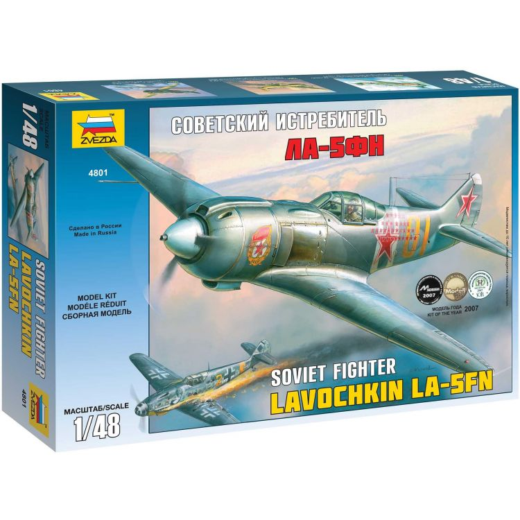 Model Kit letadlo 4801 - La-5 FN Soviet Fighter (1:48)