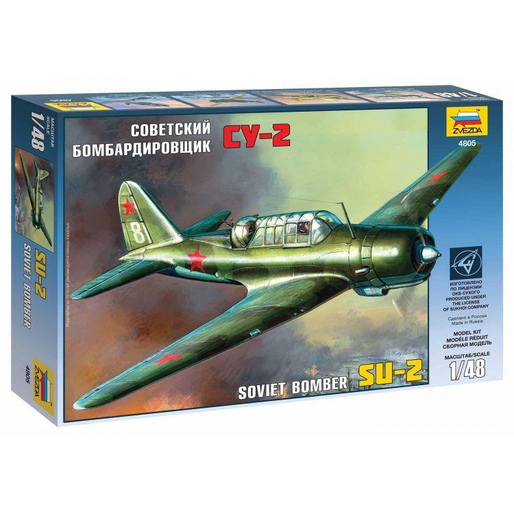 Model Kit letadlo 4805 - SU-2 Soviet Light Bomber (1:48)