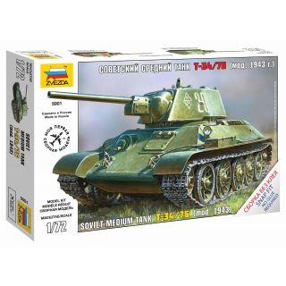 Snap Kit tank Z5001 - T-34/76 (1:72)