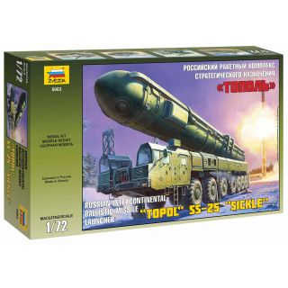 "Model Kit military 5003 - Ballistic Missile Launcher ""Topol"" (1:72)"