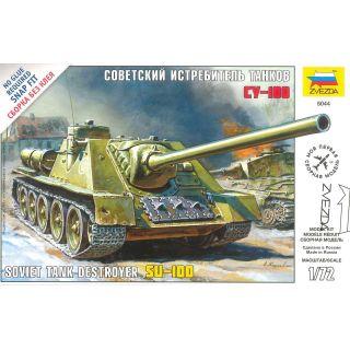 Snap Kit military 5044 - Soviet Tank Destroyer SU-100 (1:72)