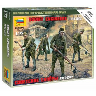 Wargames (WWII) figurky 6108 - Soviet Engineers WWII (1:72)
