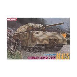 "Model Kit tank 6007 - GERMAN SUPER TANK ""MAUS"" (1:35)"