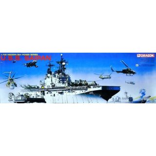 Model Kit loď 7009 - U.S.S. SAIPAN (1:700)