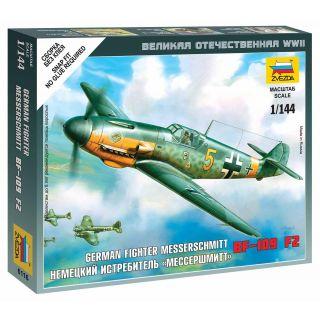 Wargames (WWII) letadlo 6116 - Messerschmitt Bf 109F-2 (1:144)