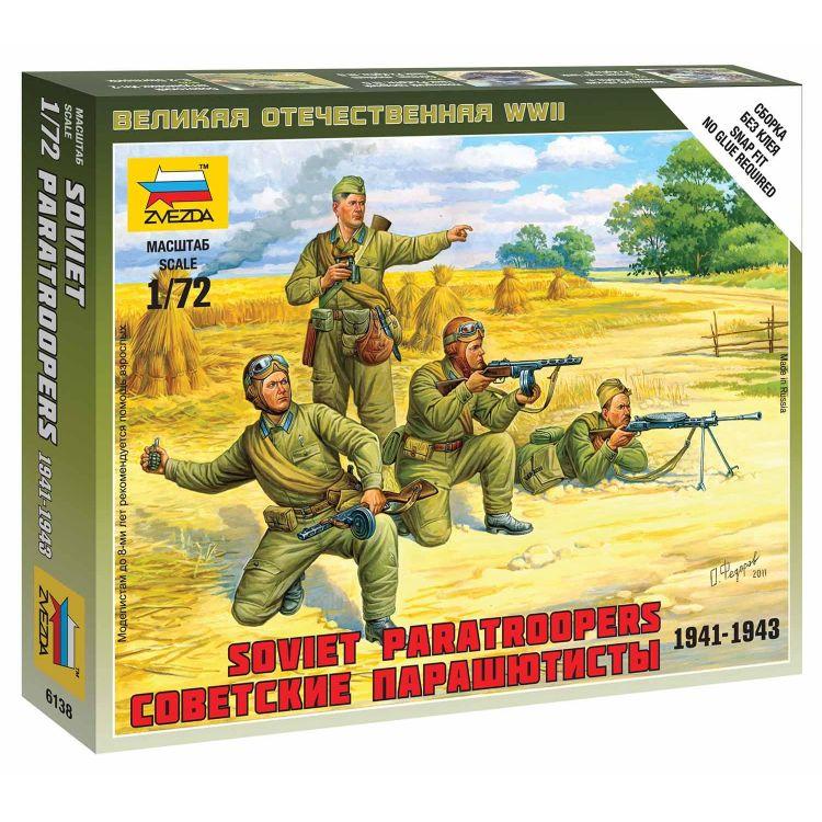 Wargames (WWII) figurky 6138 - Soviet Paratroops (1:72)