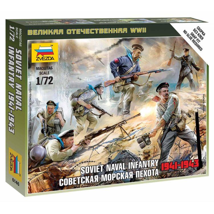 Wargames (WWII) figurky 6146 - Soviet Naval Infantry (1:72)