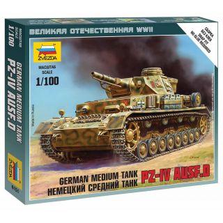 Wargames (WWII) tank 6151 - Pz-IV Ausf.D (1:100)