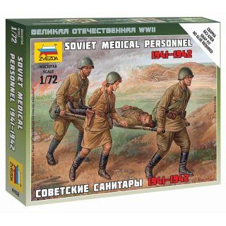 Wargames (WWII) figurky 6152 - Soviet Medical Personnel 1941-42 (1:72)
