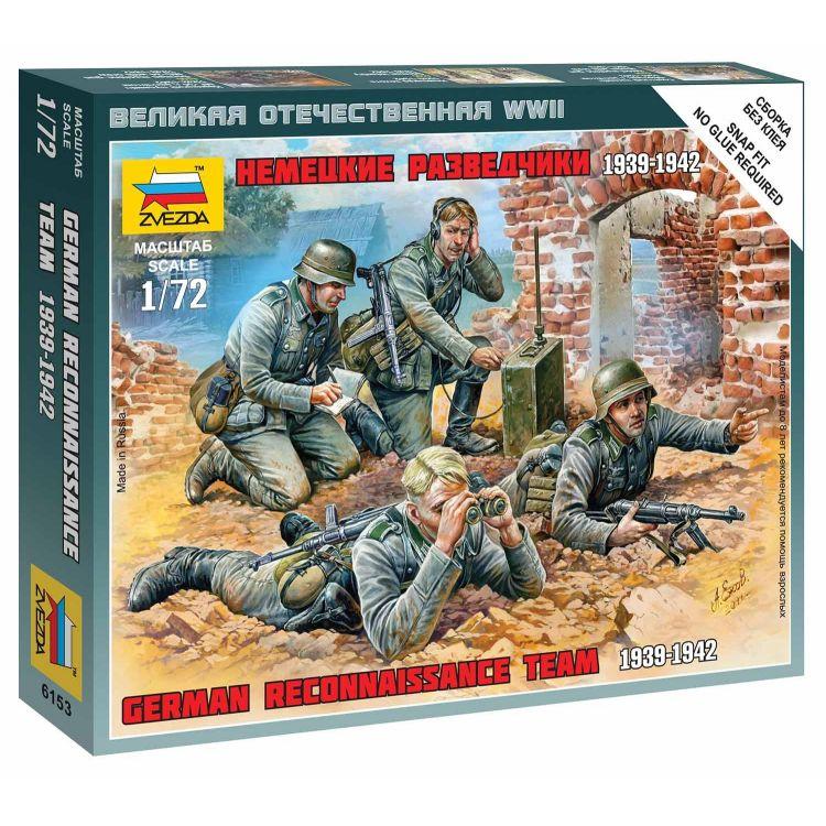 Wargames (WWII) figurky 6153 - German Reconnaissance Team (1:72)