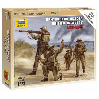 Wargames (WWII) figurky 6166 - British Infantry 1939-42 (1:72)
