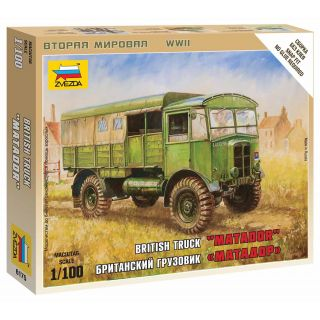 "Wargames (WWII) military 6175 - British Truck ""Matador"" (1:100)"