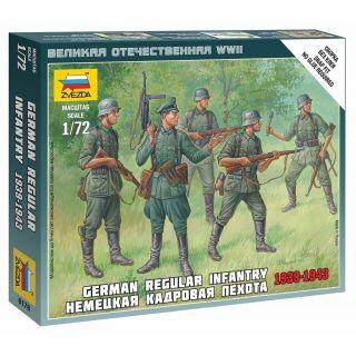 Wargames (WWII) figurky 6178 - German Regular Infantry 1939-43 (1:72)