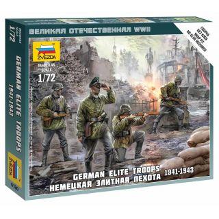 Wargames (WWII) figurky 6180 - German Elite Troops 1939-43 (1:72)