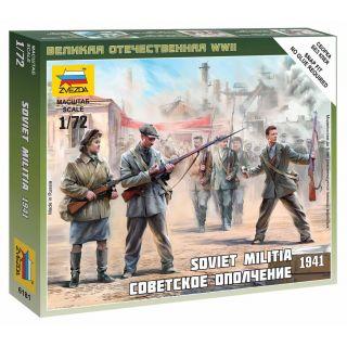 Wargames (WWII) figurky 6181 - Soviet Militia 1941 (1:72)