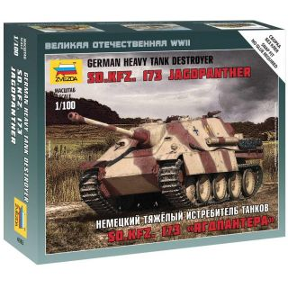 Wargames (WWII) military 6183 - Sd.Kfz.173 Jagdpanther German Heavy Tank Destroyer (1:100)