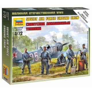 Wargames (WWII) figurky 6187 - Soviet airforce ground crew (1:72)