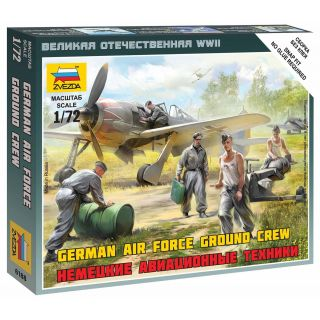 Wargames (WWII) figurky 6188 - German airforce ground crew (1:72)