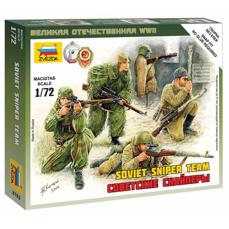 Wargames (WWII) figurky 6193 - Soviet Snipers (1:72)