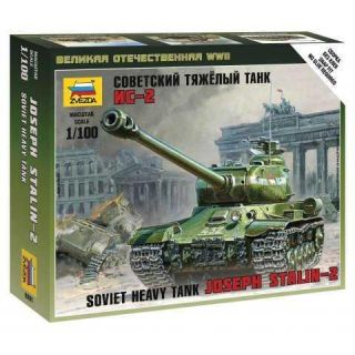 Wargames (WWII) tank 6201 - IS-2 Stalin (1:100)