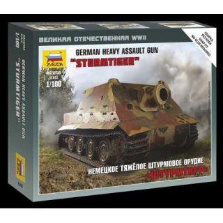 Wargames (WWII) military 6205 - Sturmtiger German Heavy Assault Gun (1:100)