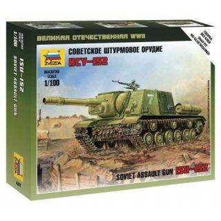 Wargames (WWII) military 6207 - Siviet assault gun ISU-152 (1:100)