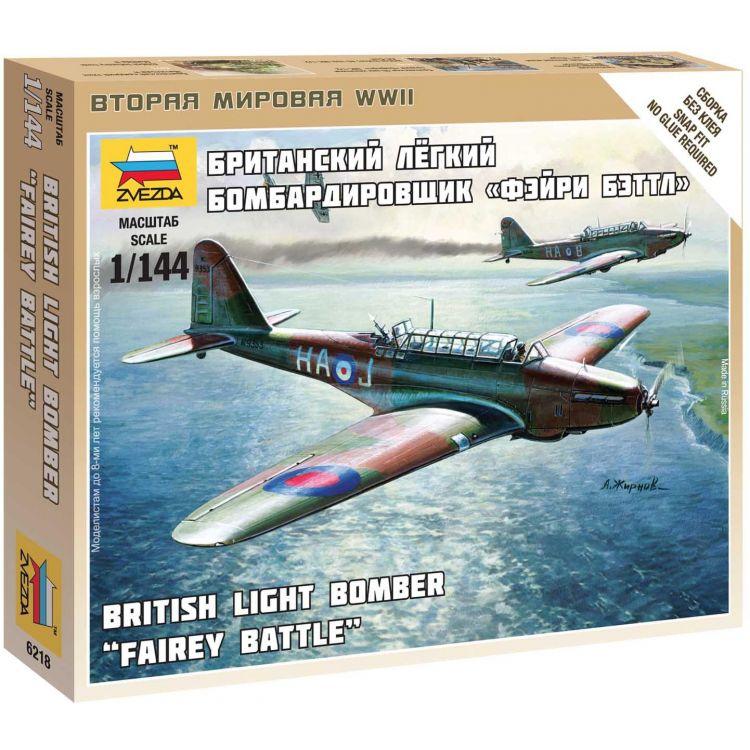 Wargames (WWII) letadlo 6218 - British Light Bomber Fairey Battle (1:144)