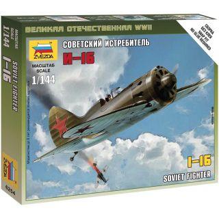 Wargames (WWII) letadlo 6254 - Polikarpov I-16 (1:144)