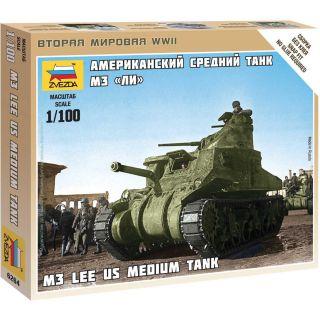 Wargames (WWII) tank 6264 - M-3 Lee US medium tank (1:100)
