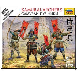 Wargames (SB) figurky 6404 - Samurai Archers (1:72)