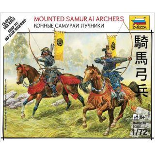 Wargames (SB) figurky 6416 - Mounted Samurai Archers (1:72)
