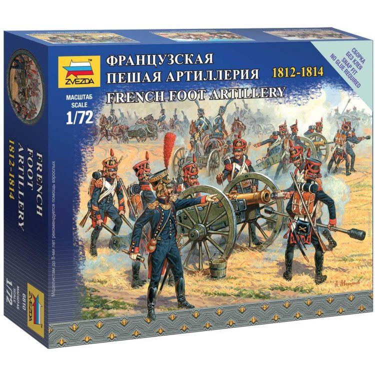 Wargames figurky 6810 - French Foot Artillery (1:72)