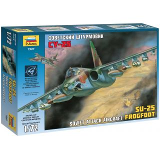 Model Kit letadlo 7227 - SU-25 (1:72)