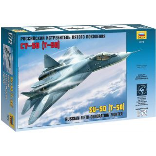 Model Kit letadlo 7275 - Sukhoi T-50 Russian Stealth Fighter (1:72)