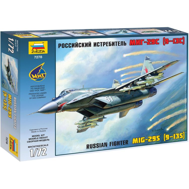 Model Kit letadlo 7278 - MiG-29 (9-13) (1:72)