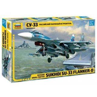 Model Kit letadlo 7297 - Sukhoi SU-33 Flanker D (1:72)