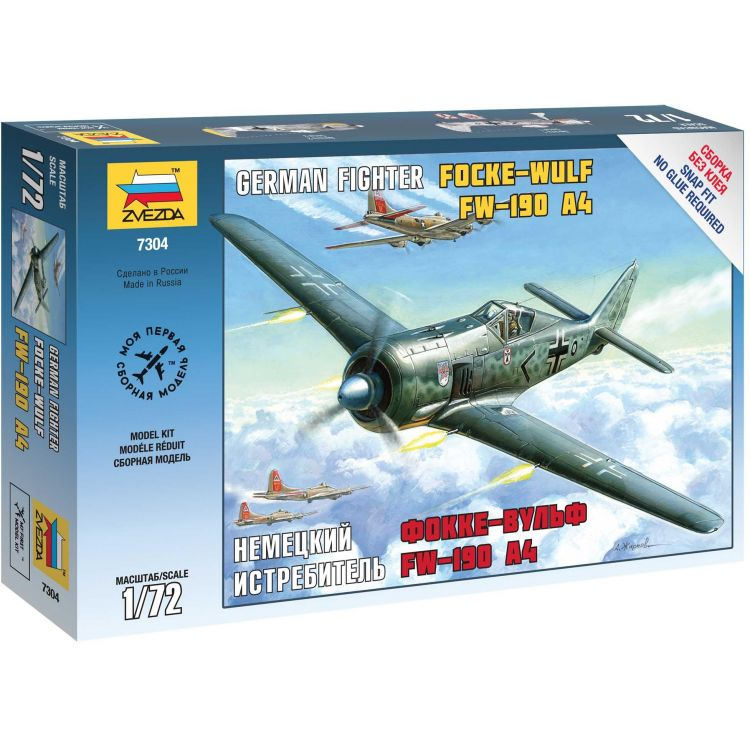 Snap Kit letadlo 7304 - FockeWulf 190 A4 (1:72)