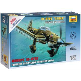 Snap Kit letadlo 7306 - Ju-87B2 Stuka (1:72)