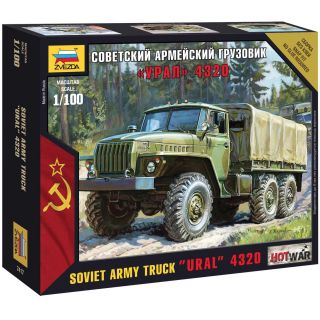Wargames (HW) military 7417 - Ural truck (1:100)