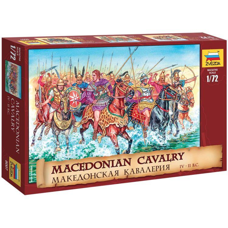 Wargames (AoB) figurky 8007 - Macedonian Cavalry IV-II B. C. (1:72)