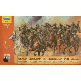 Wargames (AoB) figurky 8079 - Black Hussars (1:72)