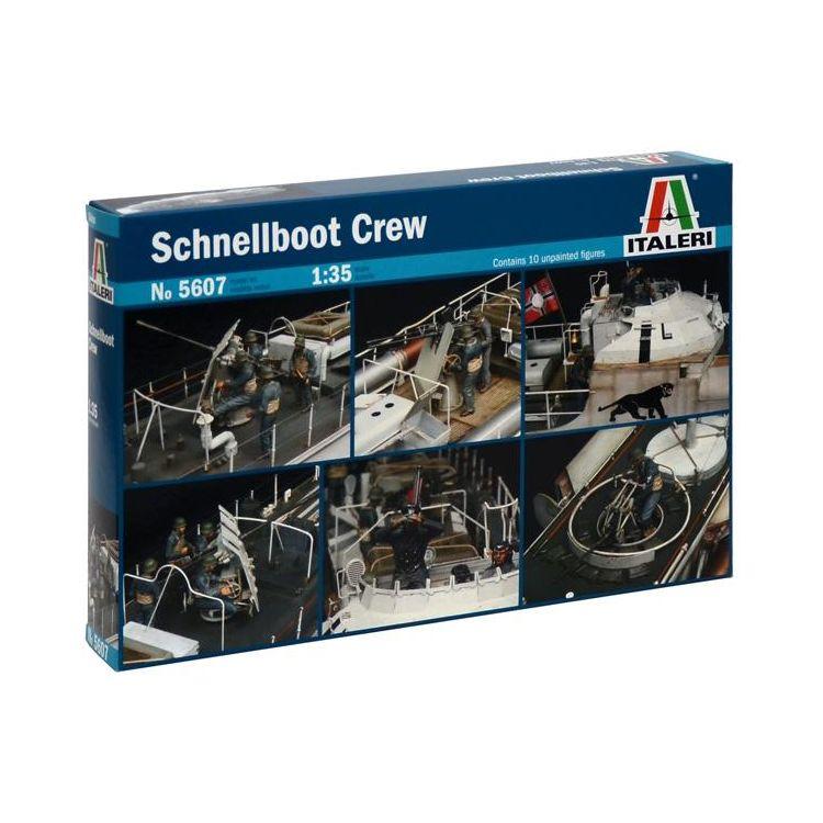 Model Kit figurky 5607 - SCHNELLBOOT CREW (1:35)